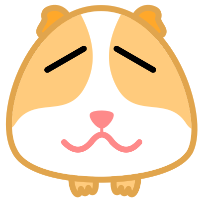 Guinea Pig Emoji messages sticker-10