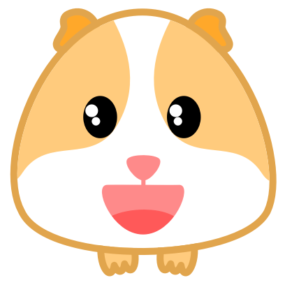 Guinea Pig Emoji messages sticker-2