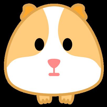 Guinea Pig Emoji messages sticker-0