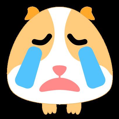 Guinea Pig Emoji messages sticker-4