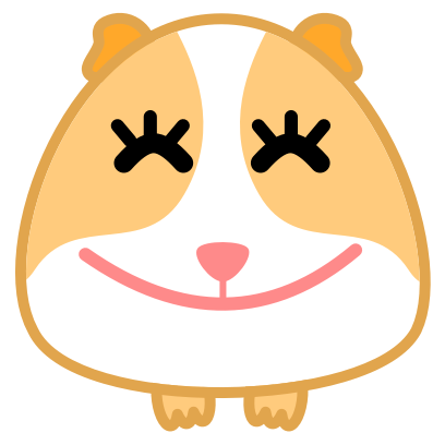 Guinea Pig Emoji messages sticker-6