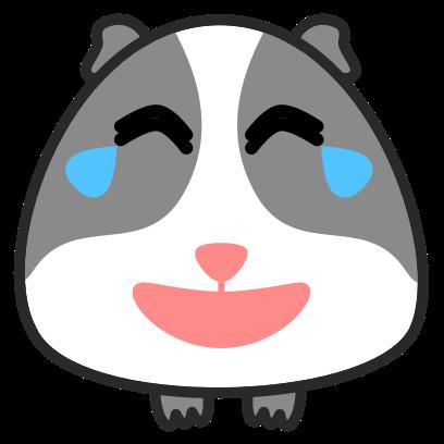 Guinea Pig Emoji messages sticker-3