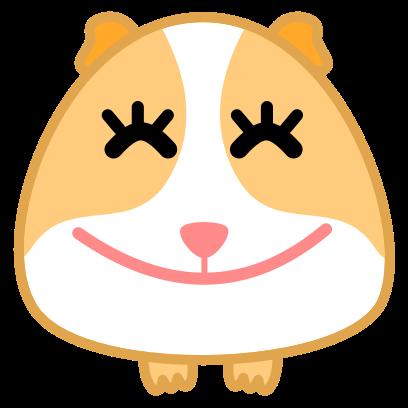Guinea Pig Emoji messages sticker-8