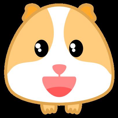 Guinea Pig Emoji messages sticker-2