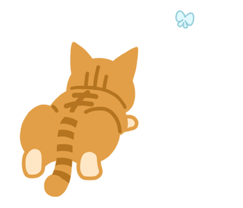 Chan the naughty cat messages sticker-0