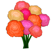 FlowerMoji (Official) messages sticker-6