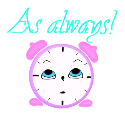 Clock! stickers messages sticker-8