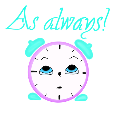 Clock! stickers messages sticker-6