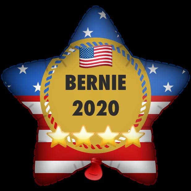Bernie Balloons messages sticker-1