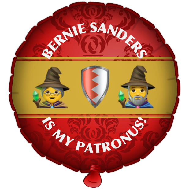 Bernie Balloons messages sticker-11