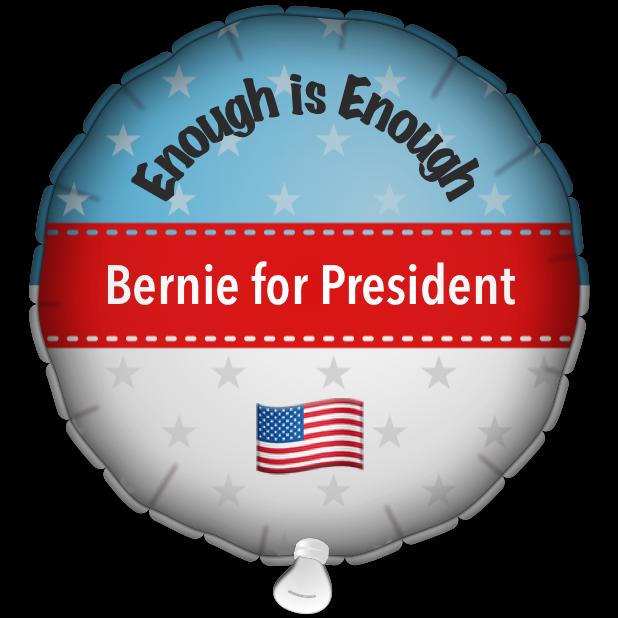Bernie Balloons messages sticker-8