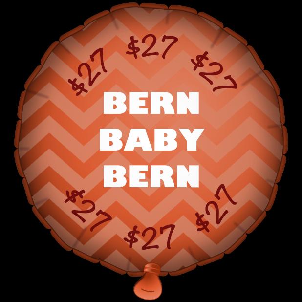 Bernie Balloons messages sticker-7