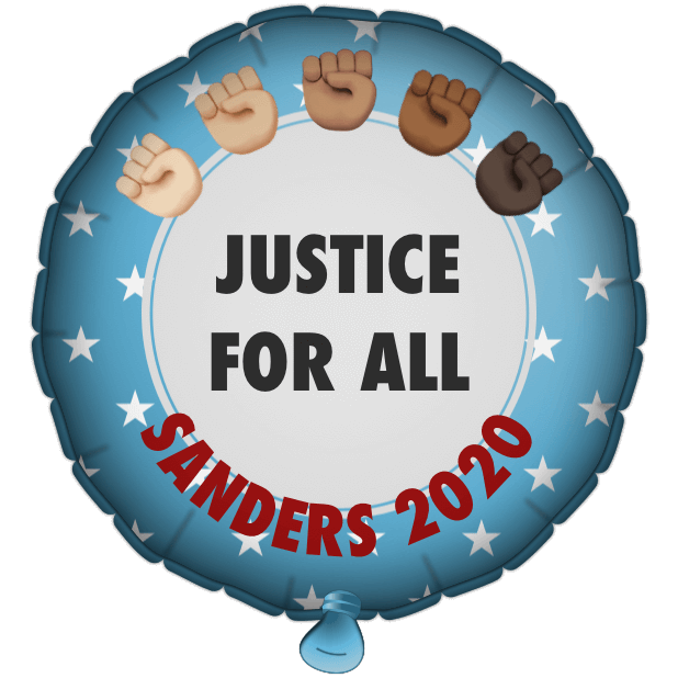 Bernie Balloons messages sticker-10