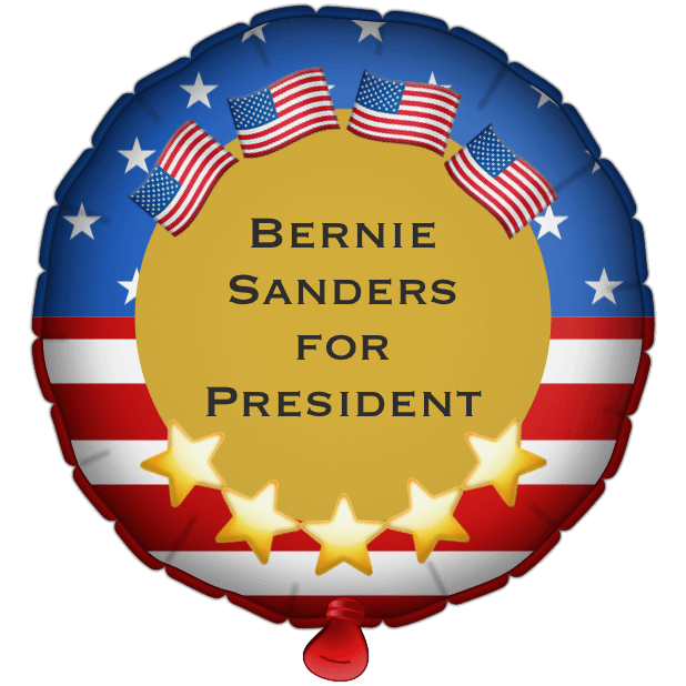 Bernie Balloons messages sticker-5