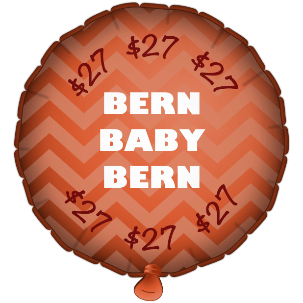 Bernie Balloons messages sticker-7