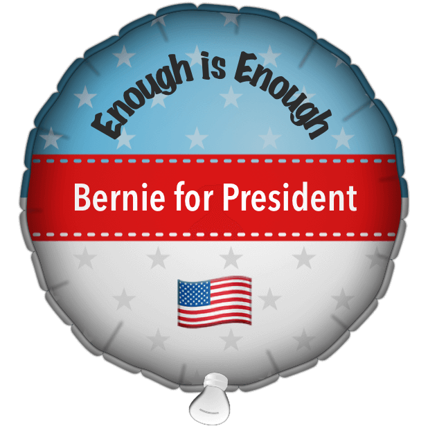 Bernie Balloons messages sticker-8