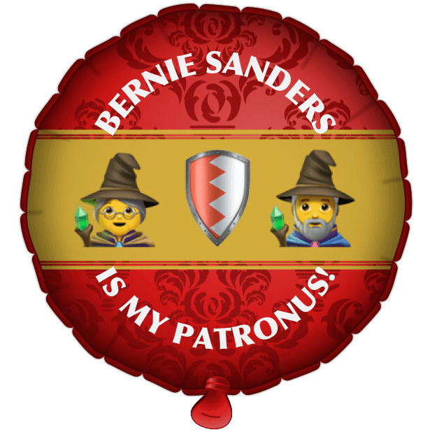 Bernie Balloons messages sticker-11