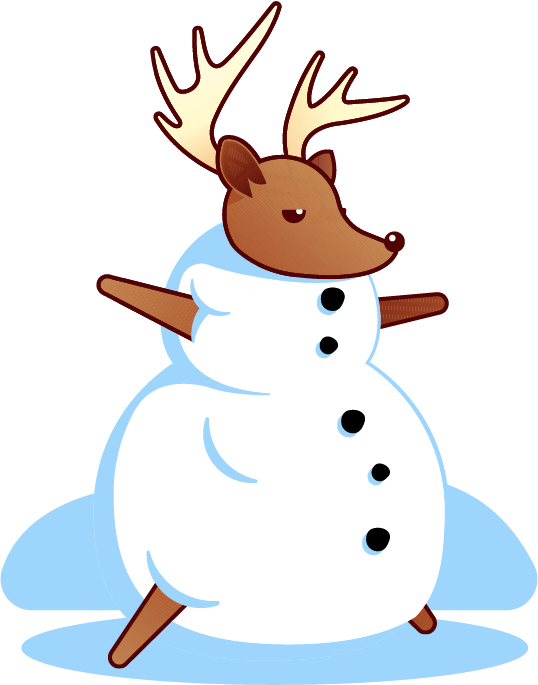 Holiday Reindeer messages sticker-2