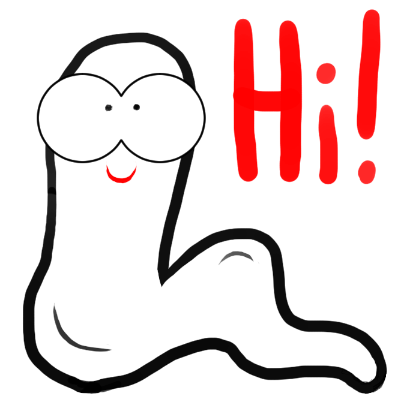 Andrew The Worm Sticker Pack messages sticker-6
