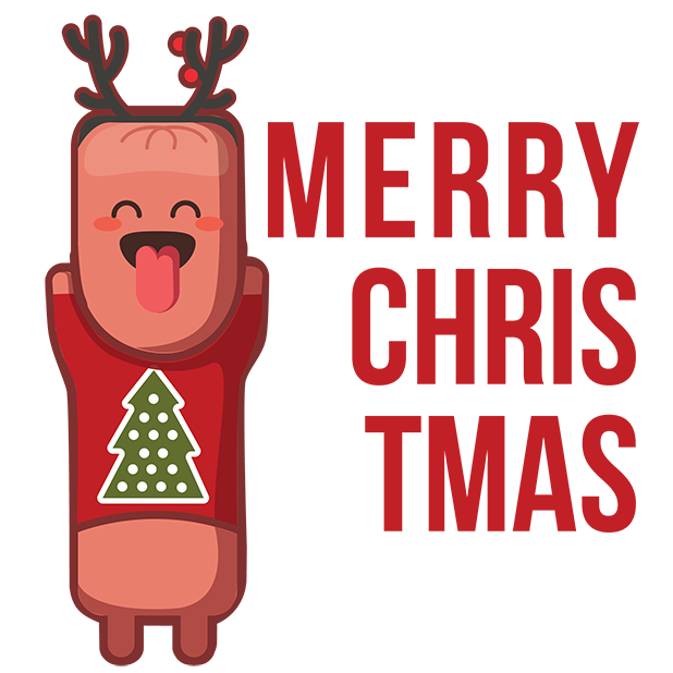 Sausige Christmas messages sticker-0