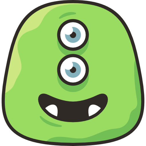 Funny Monster Stickers messages sticker-11