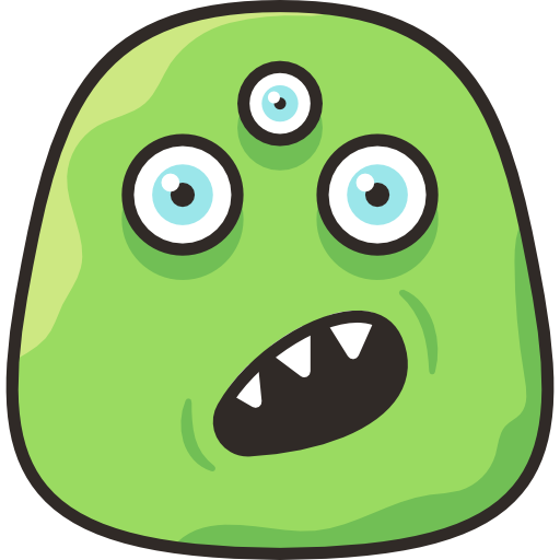Funny Monster Stickers messages sticker-5