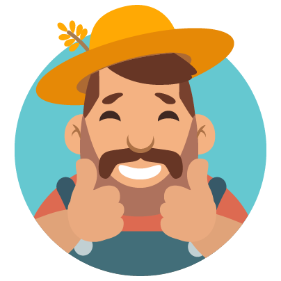 Fidget Miller – Green Farming messages sticker-3