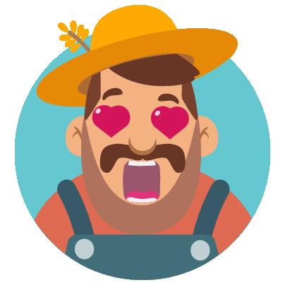 Fidget Miller – Green Farming messages sticker-0