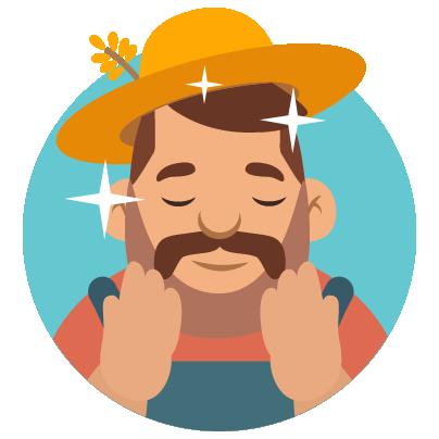 Fidget Miller – Green Farming messages sticker-4