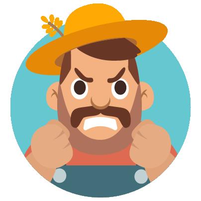 Fidget Miller – Green Farming messages sticker-1