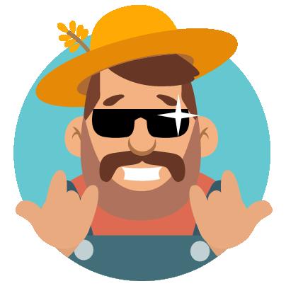 Fidget Miller – Green Farming messages sticker-6