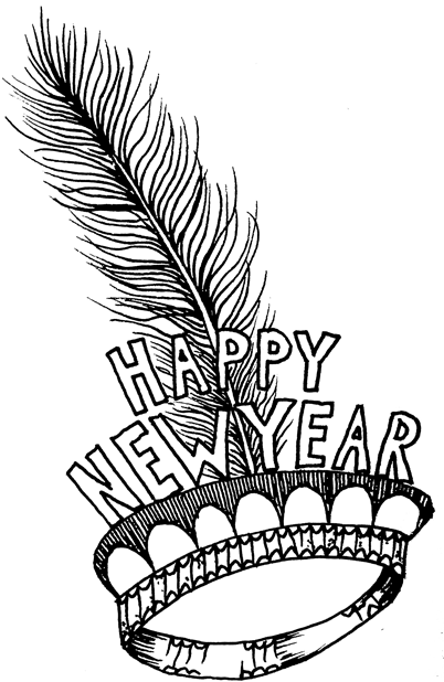 Happy 2018 messages sticker-7