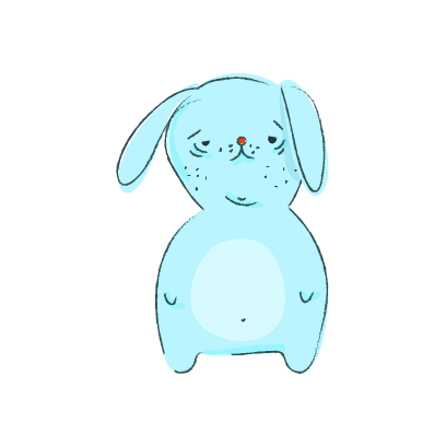 Lapin Cool messages sticker-4