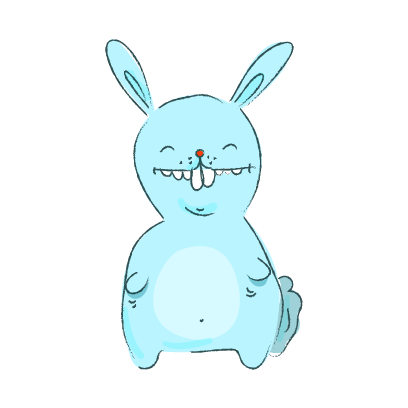 Lapin Cool messages sticker-3