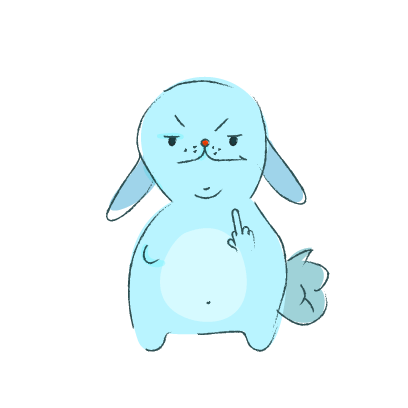 Lapin Cool messages sticker-11
