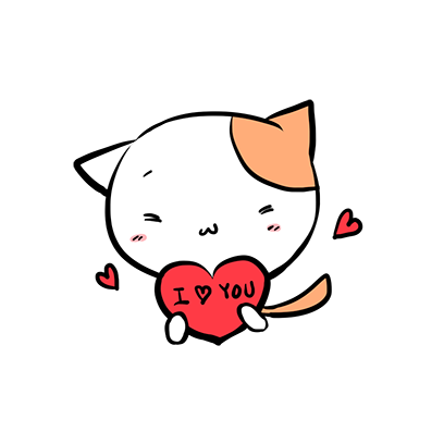 Mike San The Cat Sticker Pack messages sticker-2