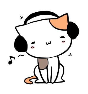 Mi-Ke the Cat Stickers messages sticker-3