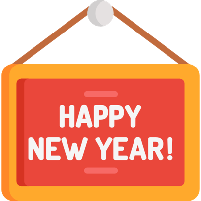 New Year 2018 Stickers Pack messages sticker-10