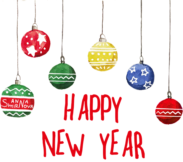 New year with puppies messages sticker-6