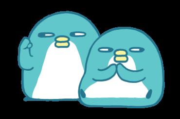 Bibi the penguin 2 messages sticker-0
