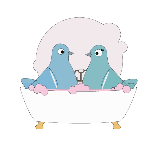 Love Pigeons messages sticker-7