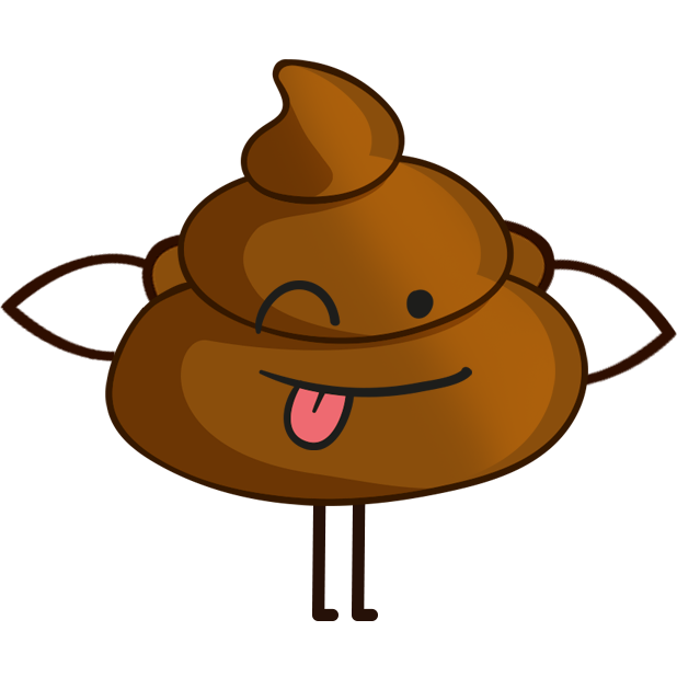 Poo! Stickers messages sticker-7