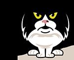 eatdrinkcat Kitty Stickers messages sticker-10