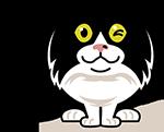 eatdrinkcat Kitty Stickers messages sticker-8