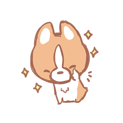 Waffle the Corgi Stickers messages sticker-8