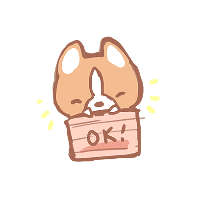 Waffle the Corgi Stickers messages sticker-11