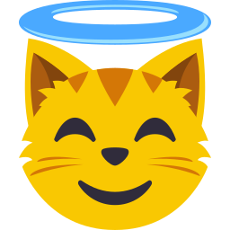 Cat Themed Emoji: by EmojiOne messages sticker-10
