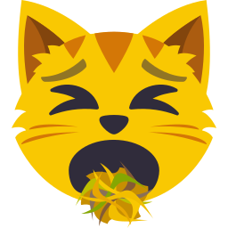 Cat Themed Emoji: by EmojiOne messages sticker-3