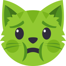 Cat Themed Emoji: by EmojiOne messages sticker-9