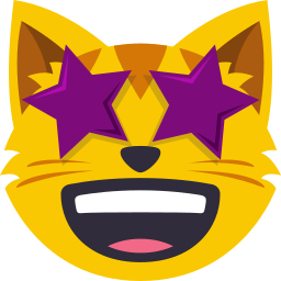 Cat Themed Emoji: by EmojiOne messages sticker-8